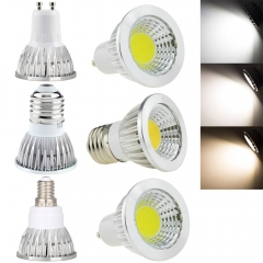 RANPO 10Pcs/Lot Super Bright LED COB Spotlight Bulbs GU10 B22 E27 E14 6W 9W 12W Lamps Bright LED lamp light AC 220V - 240V Spot Lights