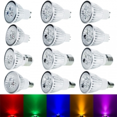 Ranpo 5Pcs/Lot Led Lamp Spotlight E12 E14 E27 MR16 GU10 Leds Bulbs 6W 9W 12W AC110V 220V Ceiling Lights & Lighting Corn Lights