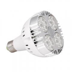 RANPO PAR30 35W E27 LED Bulb Spotlights Black Shell Cool Neutral Warm White Lamp 3030 SMD OSRAM 85-265V
