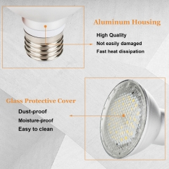 Ranpo E27 Dimmable LED Spotlight Bulb 2835 SMD PAR20 PAR30 PAR38 14W 24W 30W Warm White Lamp Bright Corn Light High Power