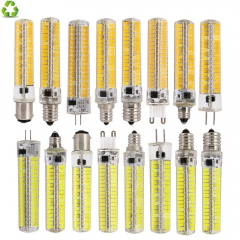 Ranpo 10Pcs/Lot LED Bulb SMD 5730 LED G9 G4 E11 E12 E14 E17 B15 LEDS Lamp 136Led Corn Light AC110V 220V Replace Halogen Lamp