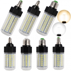 RANPO Super Bright Dimmable E26 E27 E12 E14 LED Corn Light Bulb 21W 30W 32W 38W 5730 SMD White Lamp Warm/Cool White