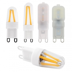 Ranpo Dimmable G9 4W 6W 9W LED COB Bulb Lamp Light Corn Bulb AC 220V Replace Halogen Lighting