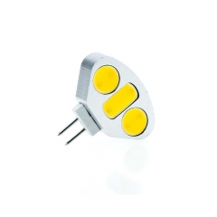 RANPO 4.5W Mini COB G4 LED Cabinet Lamp Corn Bulb Light DC 12V Cool Warm White