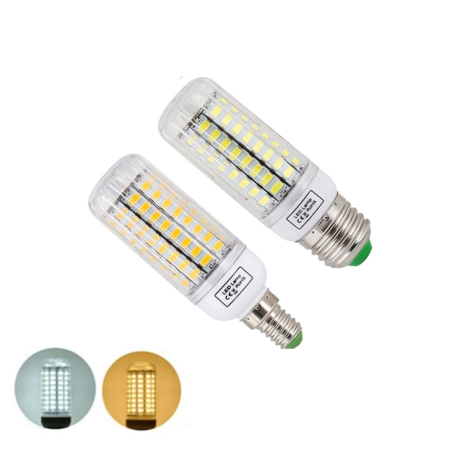 Ranpo E27 E14 LED Lamp 5730 SMD Corn Lamp Bulbs 220V 24 30 42 64 80LEDs 7W 12W 15W 20W 25W  Lampada Ampoule Chandelier Lighting