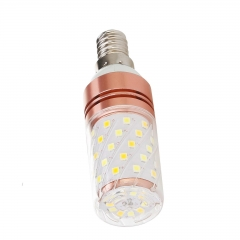 Ranpo E14 12W LED Corn Light Bulb 220V 240V 2835 SMD Cool Warm White Lamp