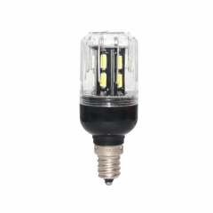 RANPO 9W E12 LED Corn Bulb 15leds 110V 7030 SMD Light Lamp Bright Cool Warm White