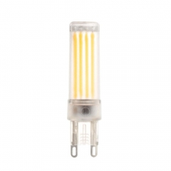 RANPO 6W Dimmable LED Bulb G9 COB SMD Silicone Crystal White Light Lamp 220V