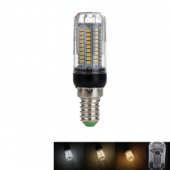 RANPO 15W E14 LED Corn Bulb 2835 SMD Light Lamp 220V Bright