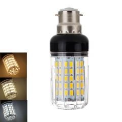 Dimmable 24W B22 LED Corn Bulb 5730 SMD Light White Lamp