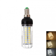 RANPO Dimmable 12W E14 LED Corn Bulb 5730 SMD Light White Lamp