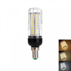 RANPO 12W E14 LED Corn Bulb 5730 SMD Light White Lamp