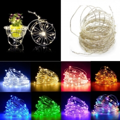 RANPO 5M LED String Copper Wire Fairy Lights Battery USB 12V Xmas Party Fairy Decor Lamp