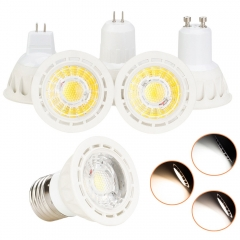 RANPO Dimmable LED Spotlights Bulbs 10W E27 E26 MR16 GU10 GU5.3 220V 12V Bright lamps