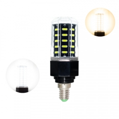 RANPO 27W E14 48 LEDs Dimmable LED Corn Bulb 7030 SMD Light Lamp Cool Warm White 110V - 265V