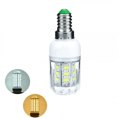 RANPO 6W E14 5730 SMD LED Corn Bulb Light White Lamp Cool Warm Netural white 220V