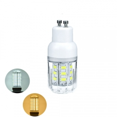 RANPO 6W GU10 5730 SMD LED Corn Bulb Light White Lamp Cool Warm Netural white 110V 220V
