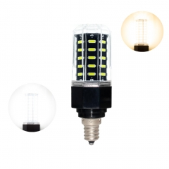 RANPO 27W E12 48 LEDs Dimmable LED Corn Bulb 7030 SMD Light Lamp Cool Warm White 110V - 265V