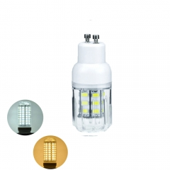 RANPO 7W GU10 5730 SMD LED Corn Bulb Light White Lamp Cool Warm Netural white 110V 220V  DC12V DC24V