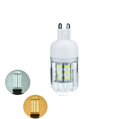 RANPO 7W G9 5730 SMD LED Corn Bulb Light White Lamp Cool Warm Netural white 110V 220V  DC12V DC24V