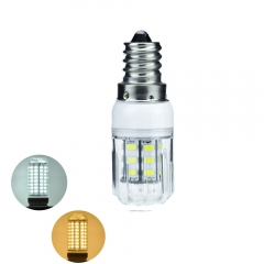 RANPO 7W E14 5730 SMD LED Corn Bulb Light White Lamp Cool Warm Netural white 220V  DC12V DC24V