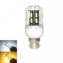 RANPO 9W B22 LED Corn Bulb Light Lamp 7030 SMD  220v  Cool Warm White