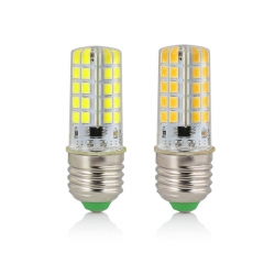 RANPO E27 10W Dimmable LED Corn Bulb Silicone Crystal Light Lamp Cool Warm White 110V 220V