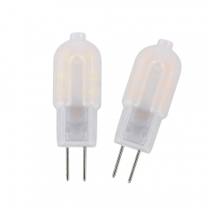 RANPO 3W G4 Silicone Crystal LED Corn Bulb Spotlight Lamp Cool Warm White 220V AC / DC 12V