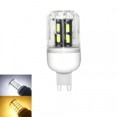 RANPO 9W G9 LED Corn Bulb Light Lamp 7030 SMD 110v/220v  Cool Warm White