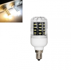 RANPO 10W E12 36leds LED Corn Bulb 4014 SMD Light Cool Warm White Lamp 110V