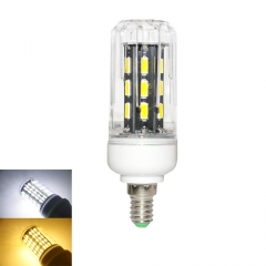 RANPO 12W E14 LED Corn Bulb Light Lamp 7030 SMD  220v  Cool Warm White