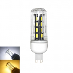 RANPO 15W G9 LED Corn Bulb Light Lamp 7030 SMD 110v/220v  Cool Warm White