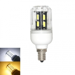 RANPO 9W E12 LED Corn Bulb Light Lamp 7030 SMD  110v  Cool Warm White