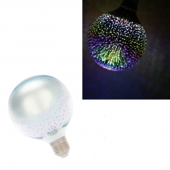 RANPO G125 LED Light Bulb E27 3D Fireworks Decorative Edison Party Lamp