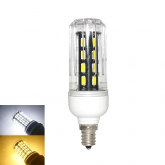 RANPO 15W E12 LED Corn Bulb Light Lamp 7030 SMD  110v  Cool Warm White