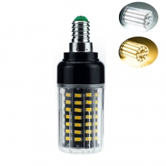 RANPO 9W E14 SMD 5736 Bombillas LED Bulb Lamparas LED Light 85LEDs Cool Warm White AC 85-265V