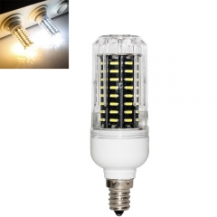 RANPO 20W E12 72leds LED Corn Bulb 4014 SMD Light Cool Warm White Lamp 110V