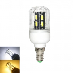 RANPO 9W E14 LED Corn Bulb Light Lamp 7030 SMD  220v  Cool Warm White