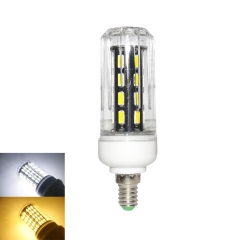 RANPO 15W E14 LED Corn Bulb Light Lamp 7030 SMD  220v  Cool Warm White