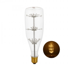 RANPO Type 5 2W Antique Retro Vintage Edison Light Bulbs Lamp E27 Filament Bulbs 220V