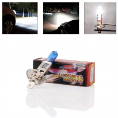 RANPO 55W Car Auto Xenon H1 HID Super White 12V Headlight Halogen Bulb Lamps
