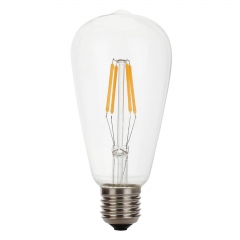 RANPO Dimmable 4W Vintage LED Edison Bulb E27 LED Filament Light Retro 220V Lamps