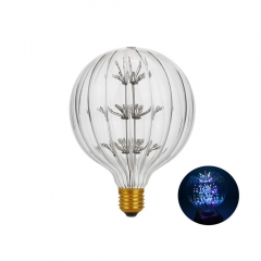 RANPO Type 1 2W Antique Retro Vintage Edison Light Bulbs Lamp E27 Filament Bulbs 220V