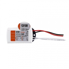 RANPO 18W 1.5A LED Driver Adapter AC 90-240V To DC 12V Transformer Power Supply For LED Strip