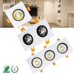 RANPO LED Recessed COB Downlight Bulb Ceiling Light Fixture 3W 5W Spot Lamp AC 85-265V