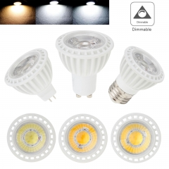 4X RANPO Dimmable LED Spotlight Bulb 15W E26 E27 MR16 GU10 COB Lamp 110V 220V 12V Bright