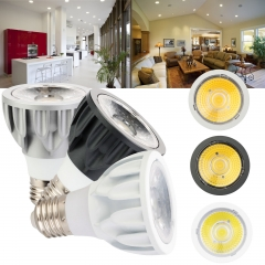 Ranpo 2X Dimmable Par20 LED COB Spot Light Bulbs E27 5W Epistar Lamp Super Bright AC 110V