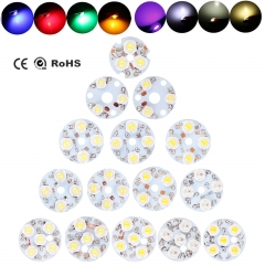 50X LED Chip Bulbs 3W 4W 5W For Ceiling Candle Spot Aluminum PCB Light