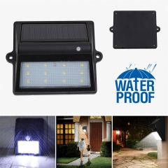 Ranpo 2Pcs Solar Rechargeable LED Solar Light Bulb Outdoor Garden lamp Decoration Night Security Wall Light Waterproof