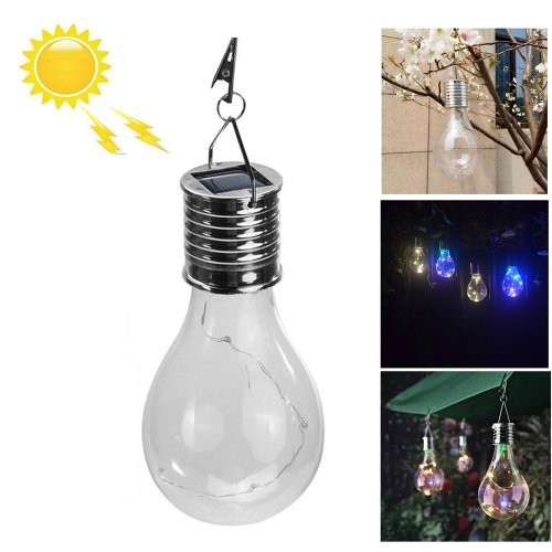 Ranpo 10x Hanging Solar LED Light Bulb Rotatable Outdoor Garden Camping Waterproof Lamps